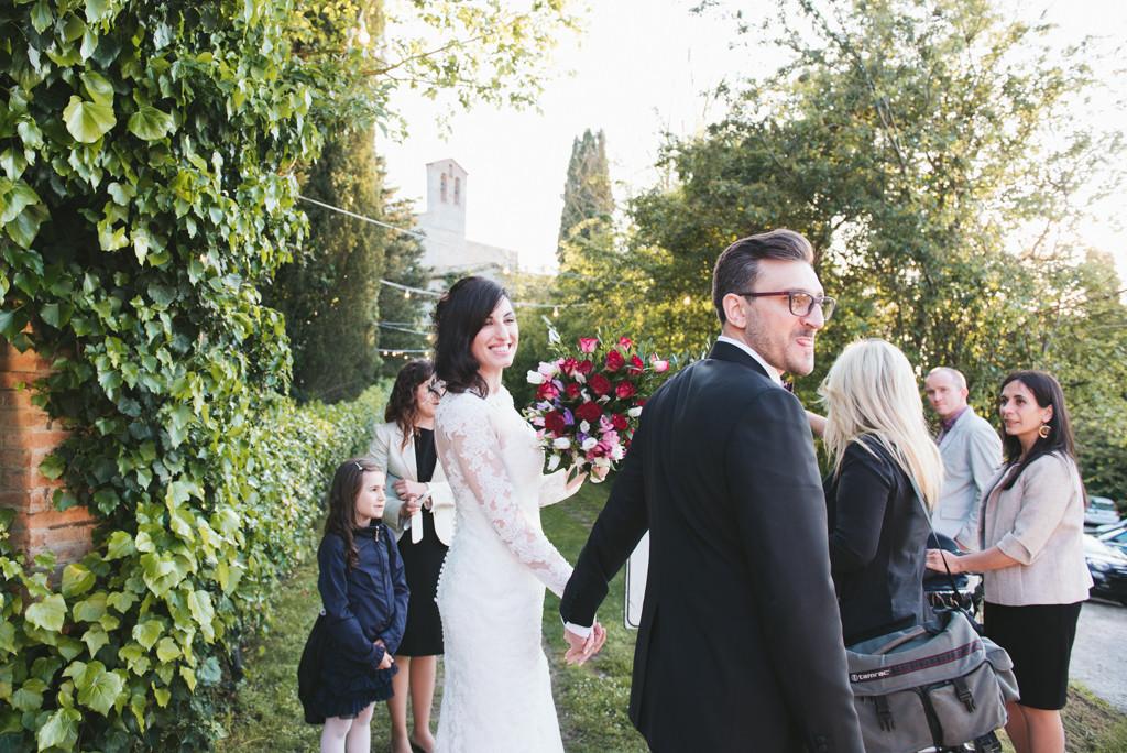 ritratto sposi nella tenuta di spineto, toscana