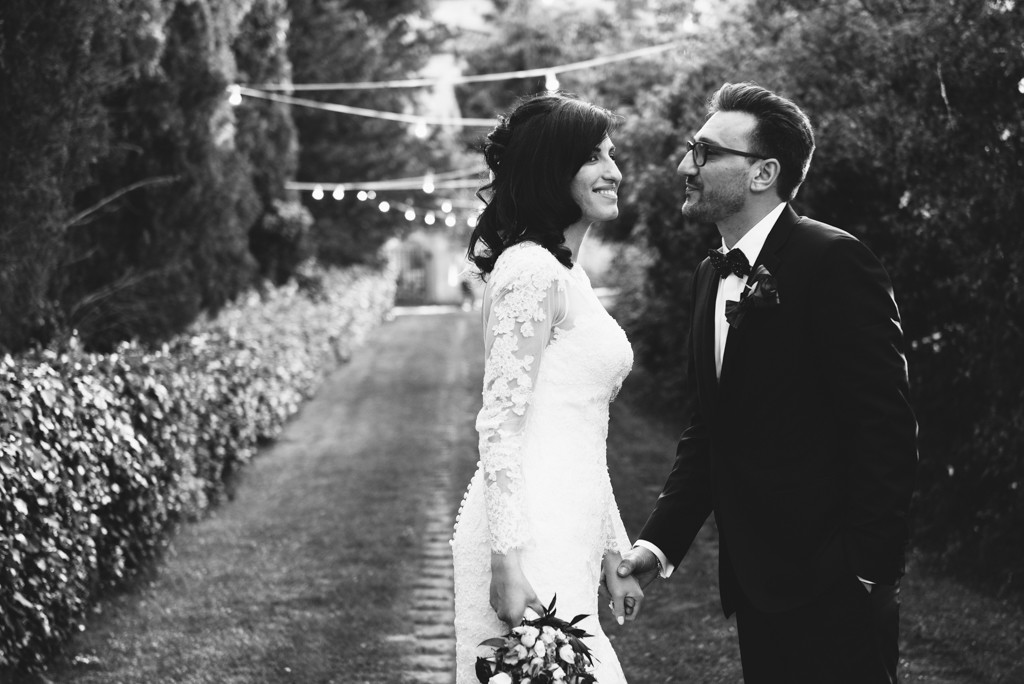 ritratto di coppia sposi in toscana