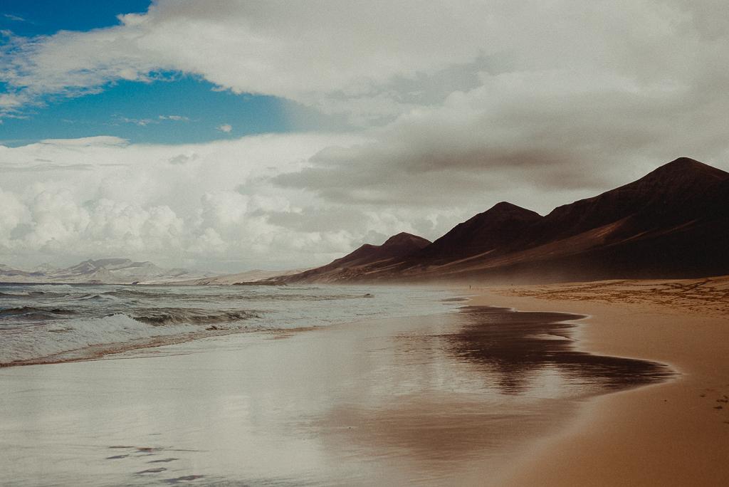 fuerteventura, playa de cofete