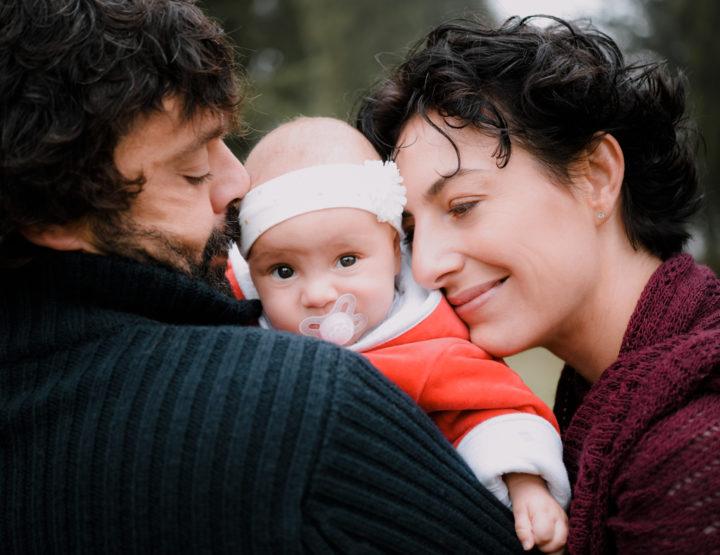 Laura, Luca, Adele e Raya //Servizio fotografico di famiglia, Arezzo//