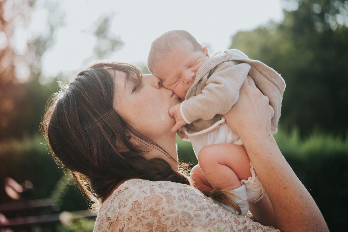 fotografo newborn e famiglia