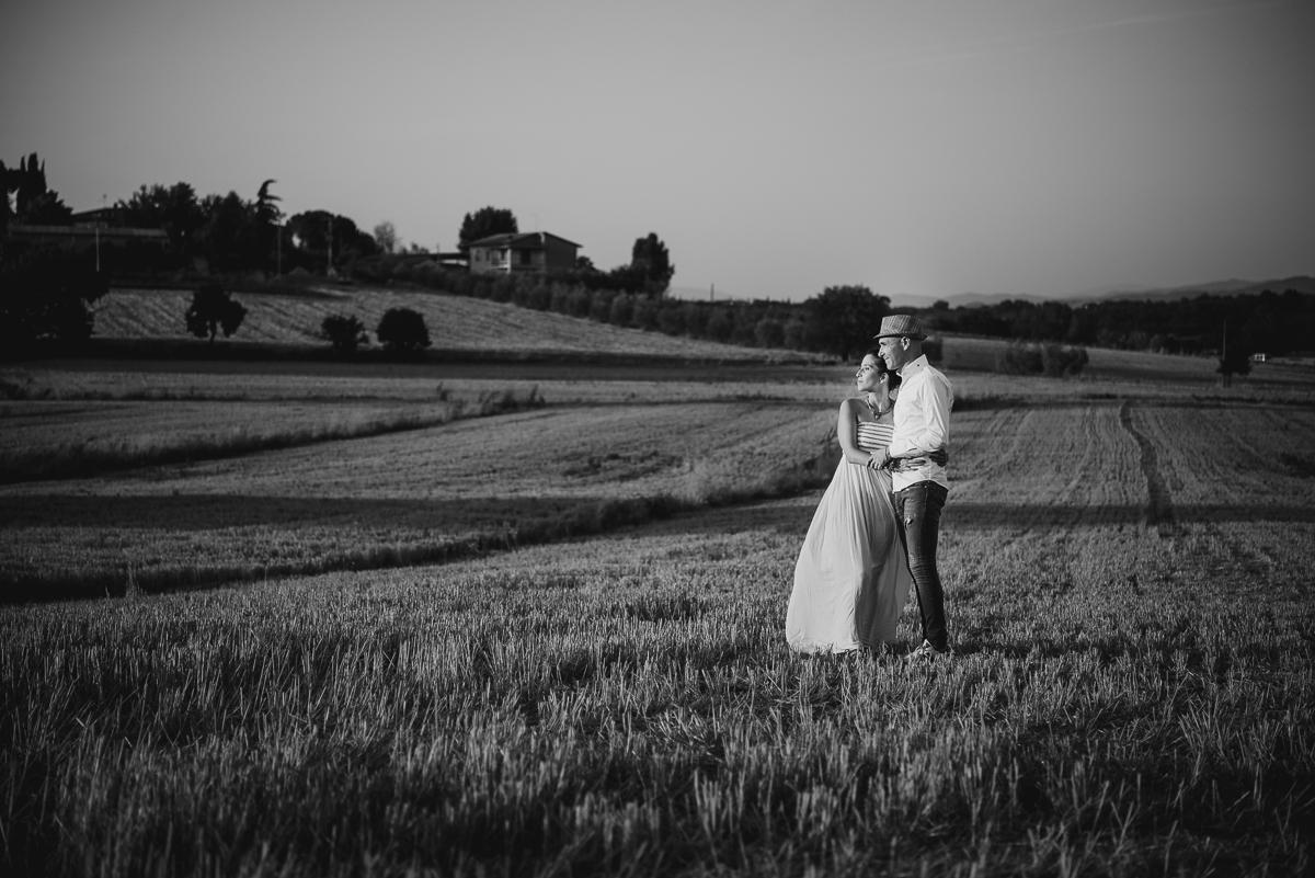 engagement photography tuscany