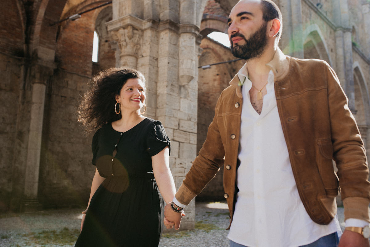 fotografo matrimonio toscana arezzo san galgano