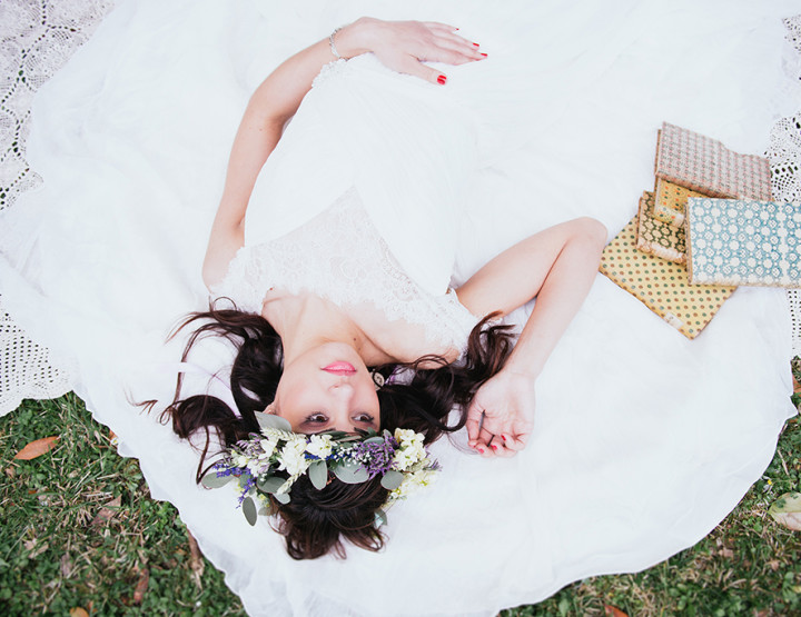 Boho-chic bride   Editorial in Tuscany, Fattoria la Striscia