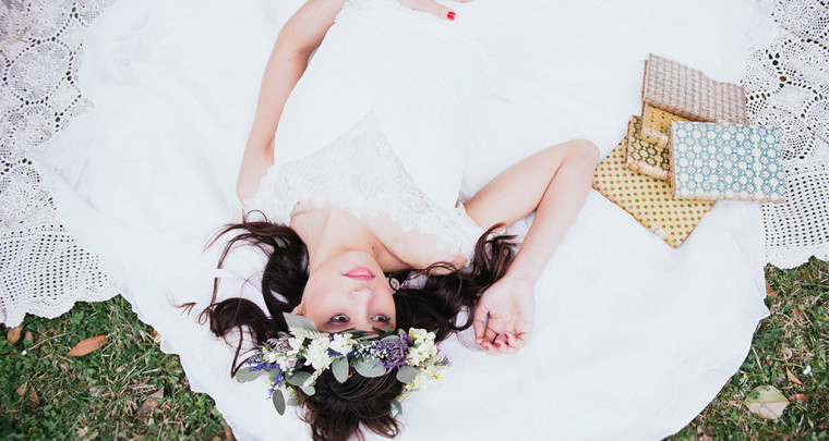Una sposa boho-chic =styled shoot=