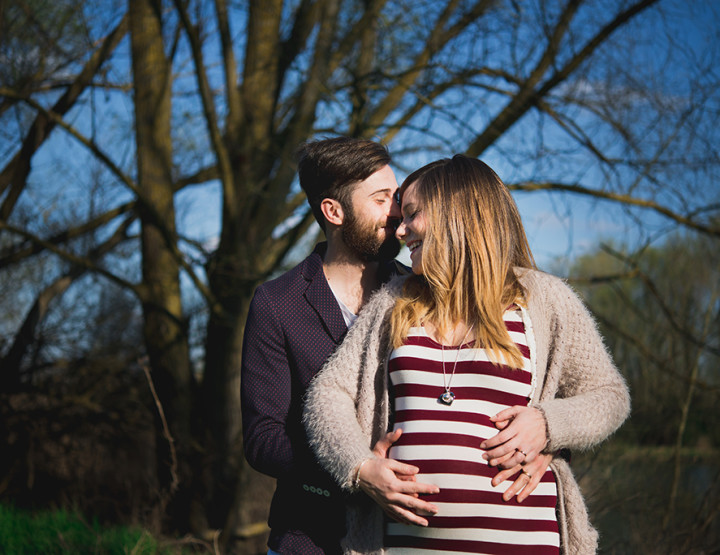 Maternity photography in Tuscany countryside =Elena & Luca =