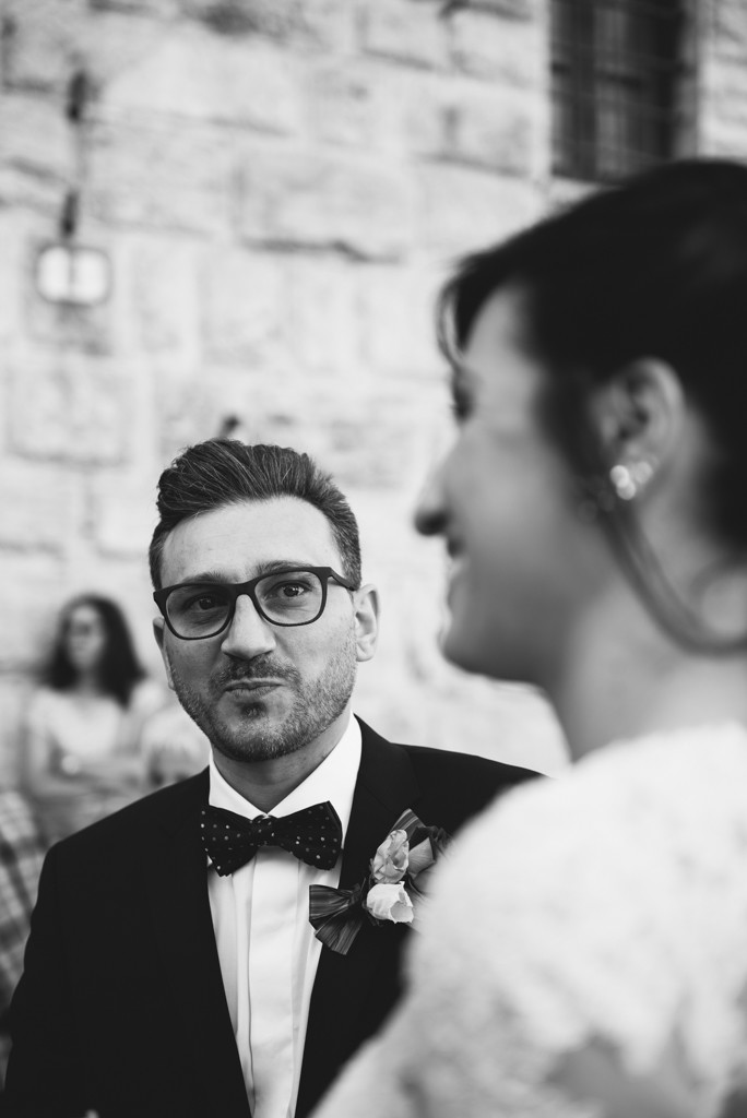 ritratto sposo emozionato