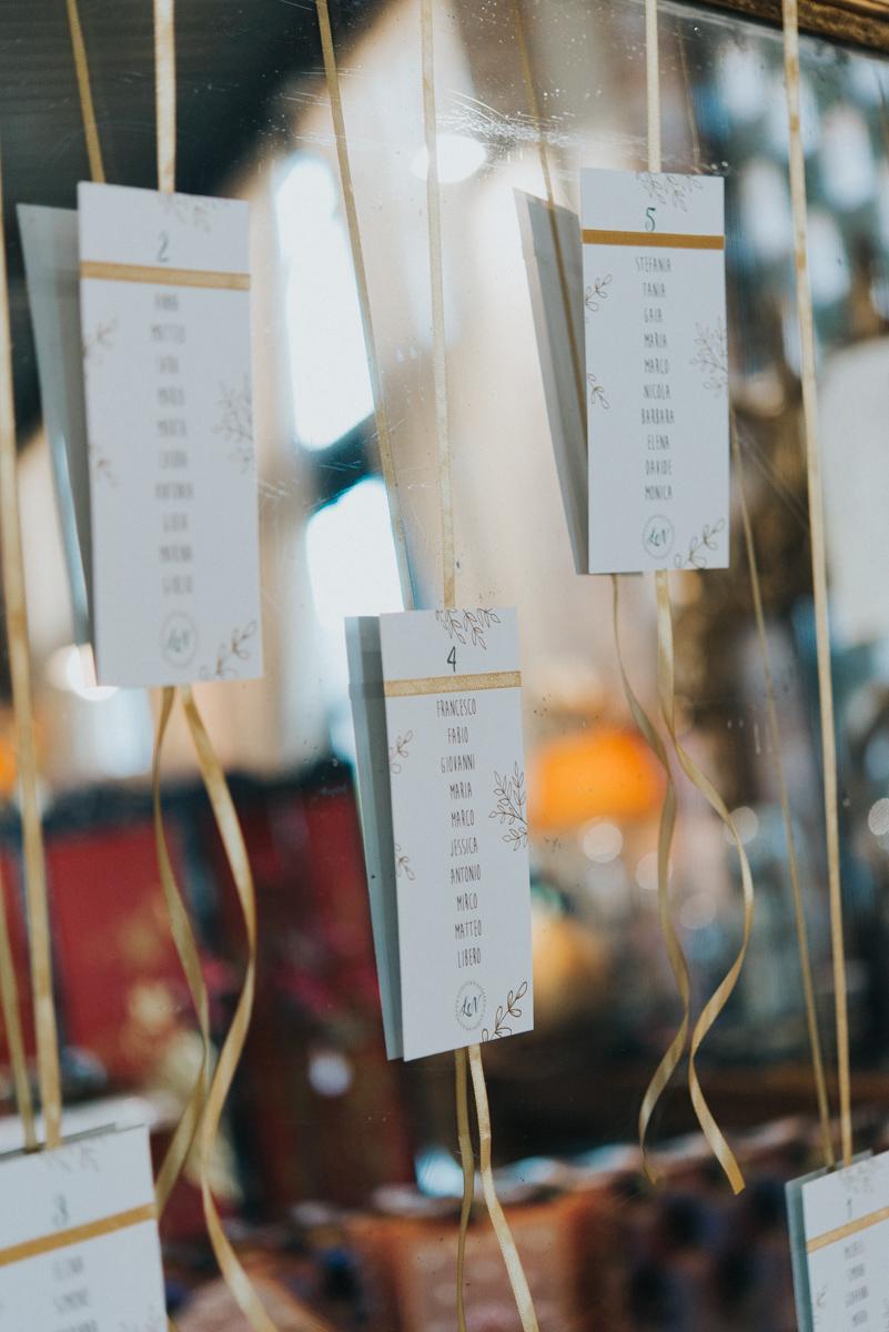 wedding tableau
