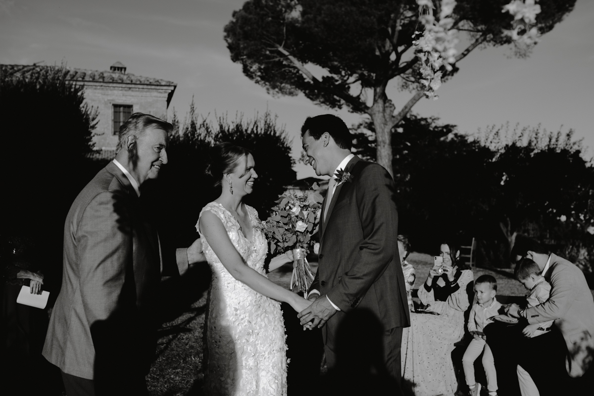 wedding ceremony tuscany