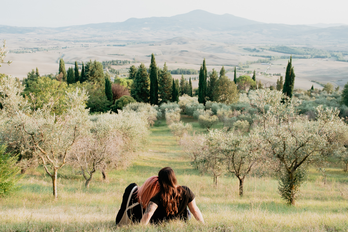 same sex elopment engagement pienza tuscany