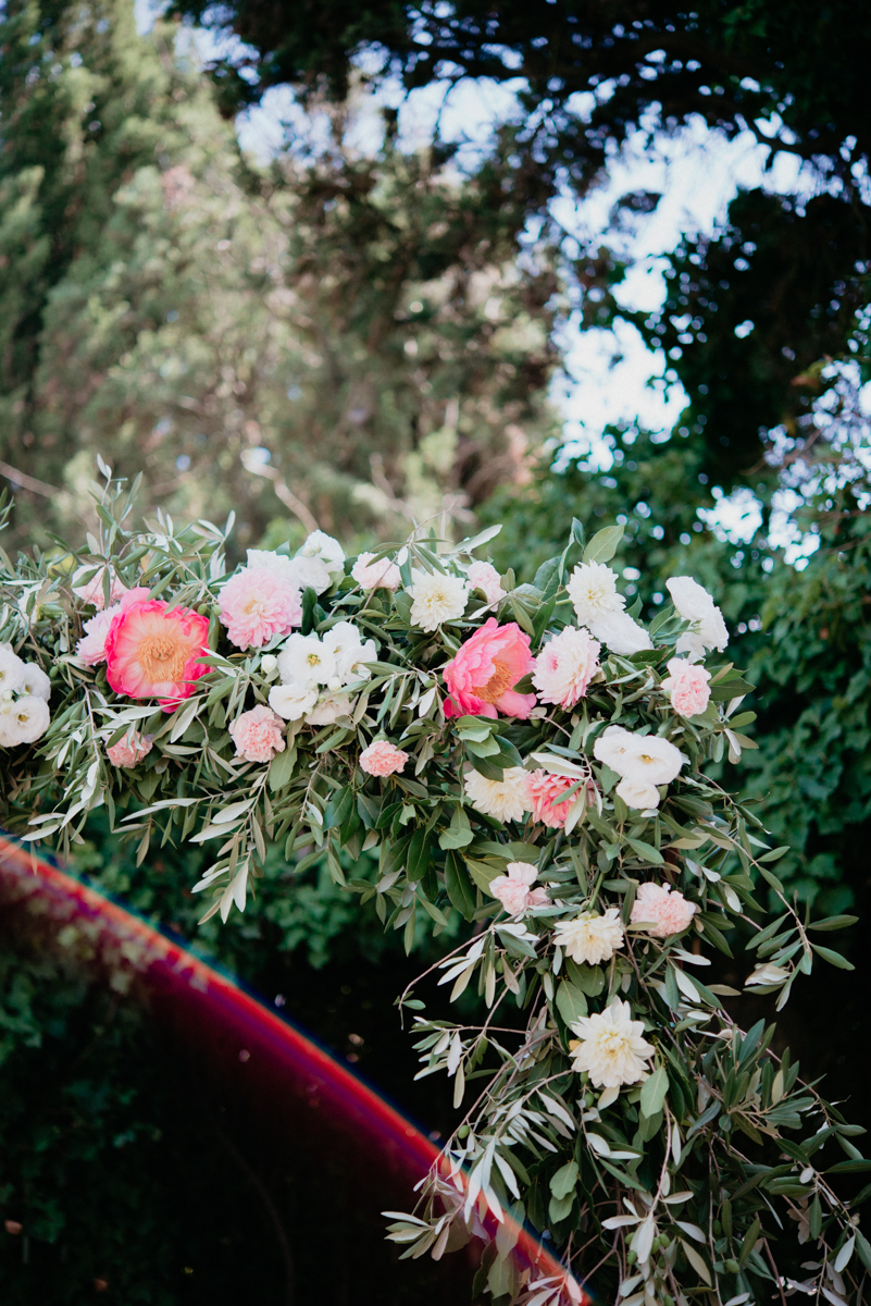 wedding flower tuscany