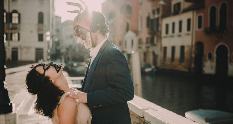 Honeymoon in Venice, Italy