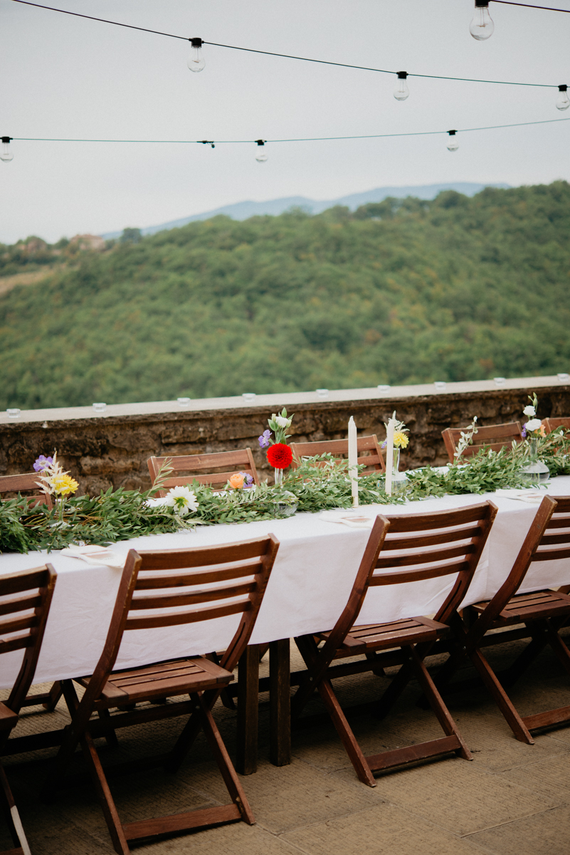venue la conca tuscany wedding