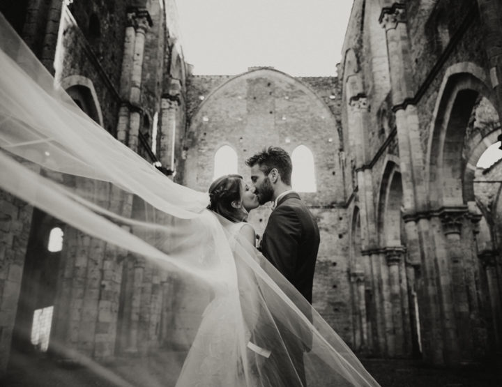 Claudia & Alessio *Wedding in San Galgano,Tuscany *