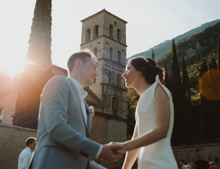 Avril & Aidan  Matrimonio in Umbria //Abbazia San Pietro in Valle//