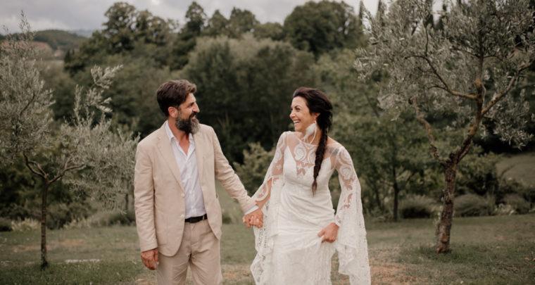 Wedding Tuscany Fattoria la Striscia, Arezzo //Laura & Andrea//