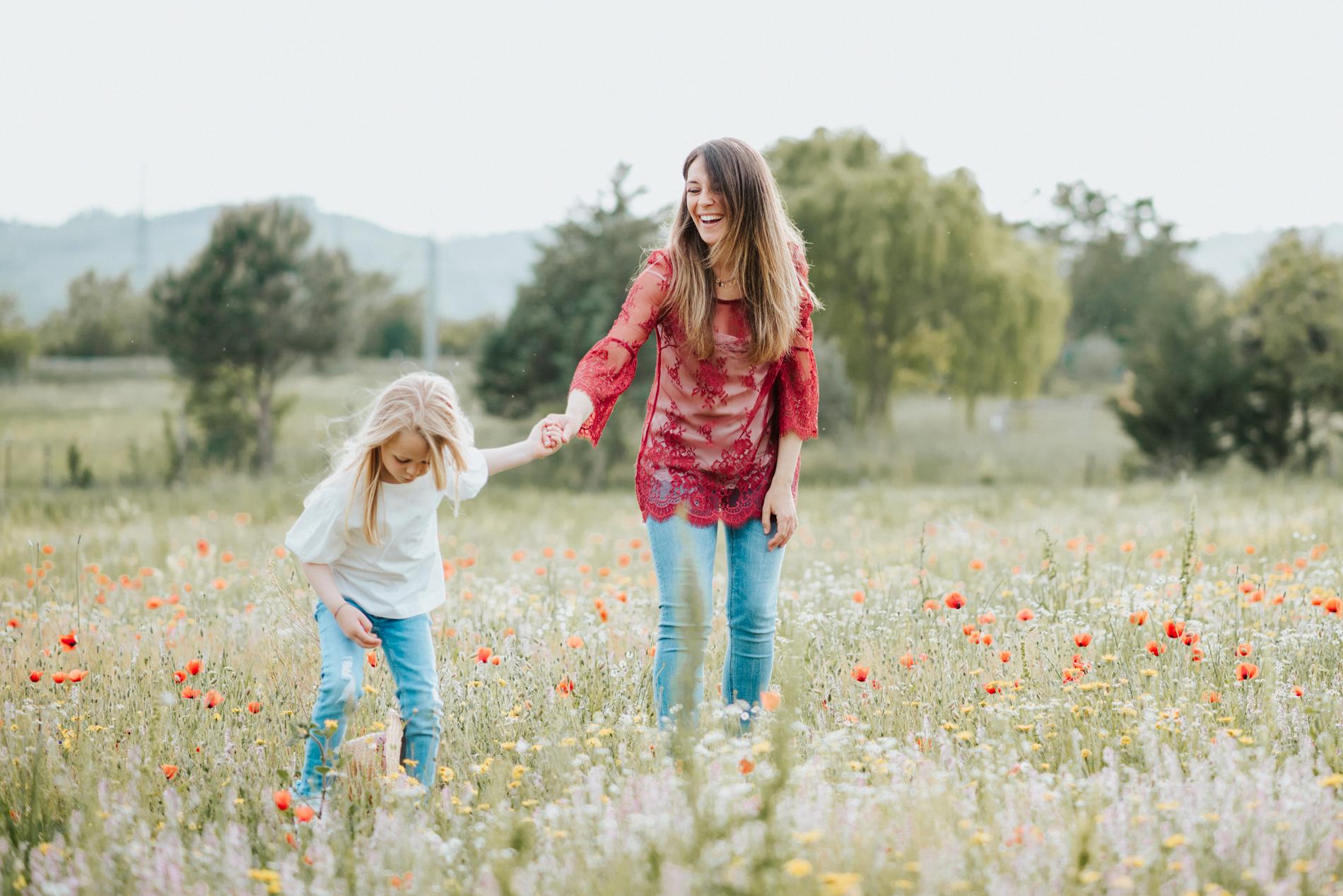 mamma e figlia sessione fotografica arezzo