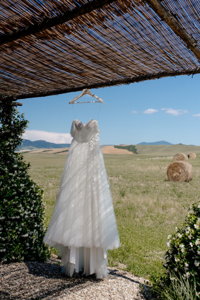 vestito da sposa toscana