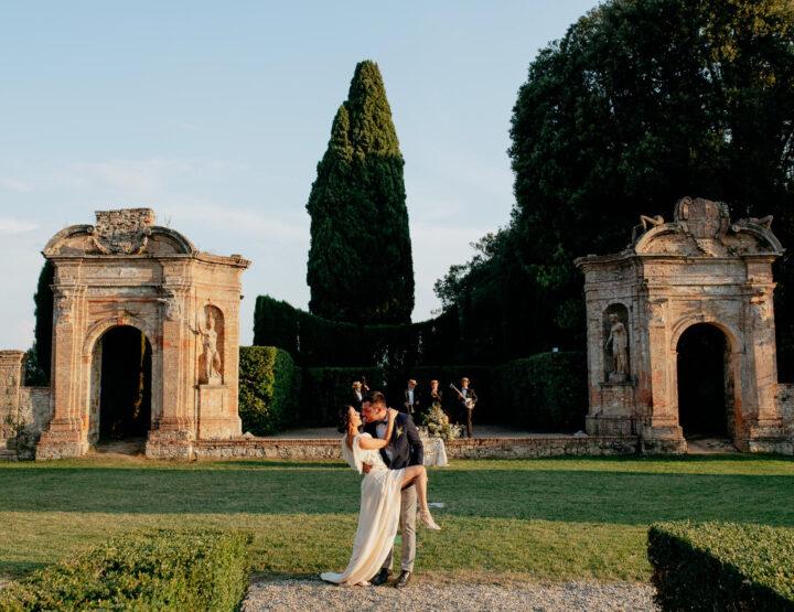 Wedding in Tuscany *Villa Geggiano, Siena*
