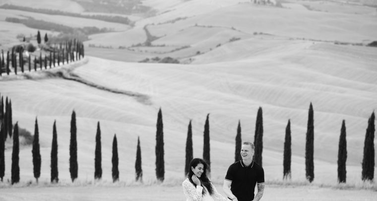 Elopement in Val d'Orcia